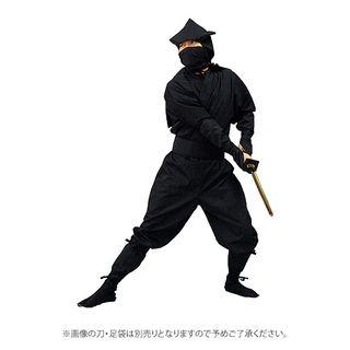 イカ頭巾忍者衣装